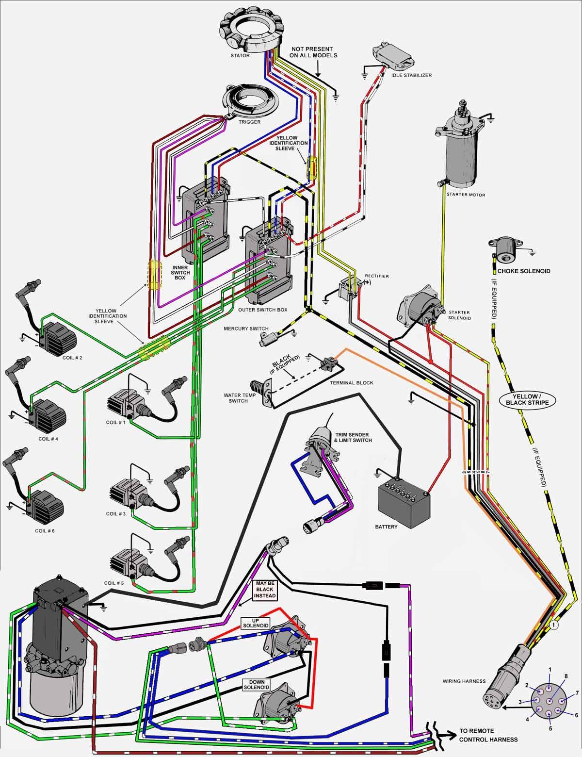 mercury mercruiser wiring schematics wiring diagrams u2022 rh  seniorlivinguniversity co 1997 Mercury Outboard Wiring Diagram Mercury