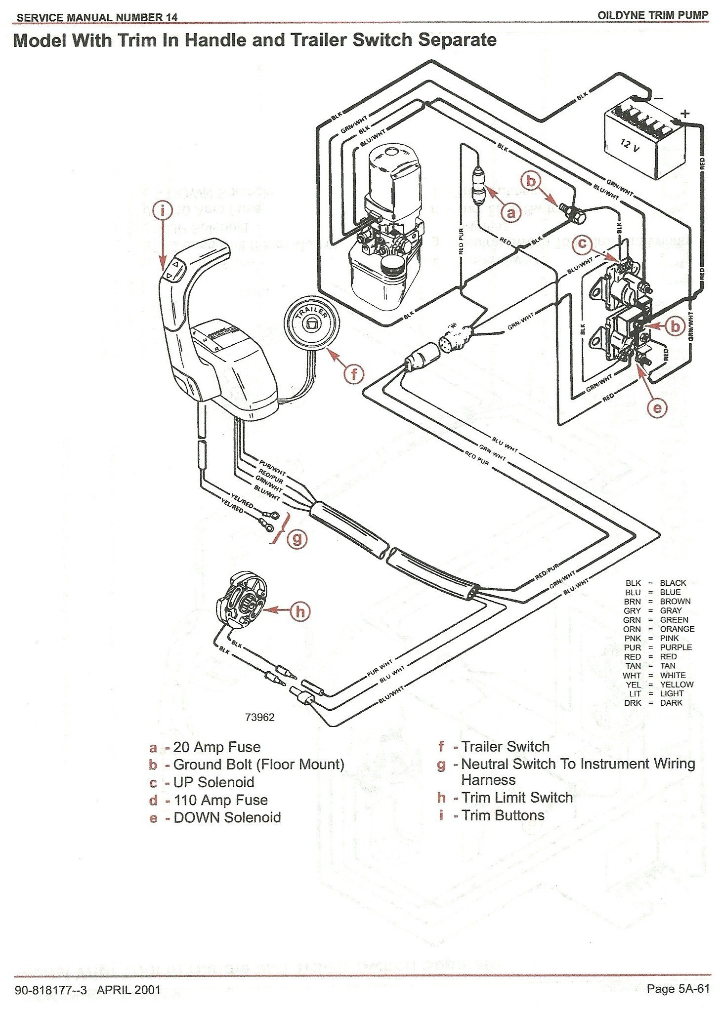 Awesome Mercruiser Tilt Trim Wiring Diagram Wiring Diagram Image Mercury Tilt  Trim Parts Mercruiser Tilt Trim