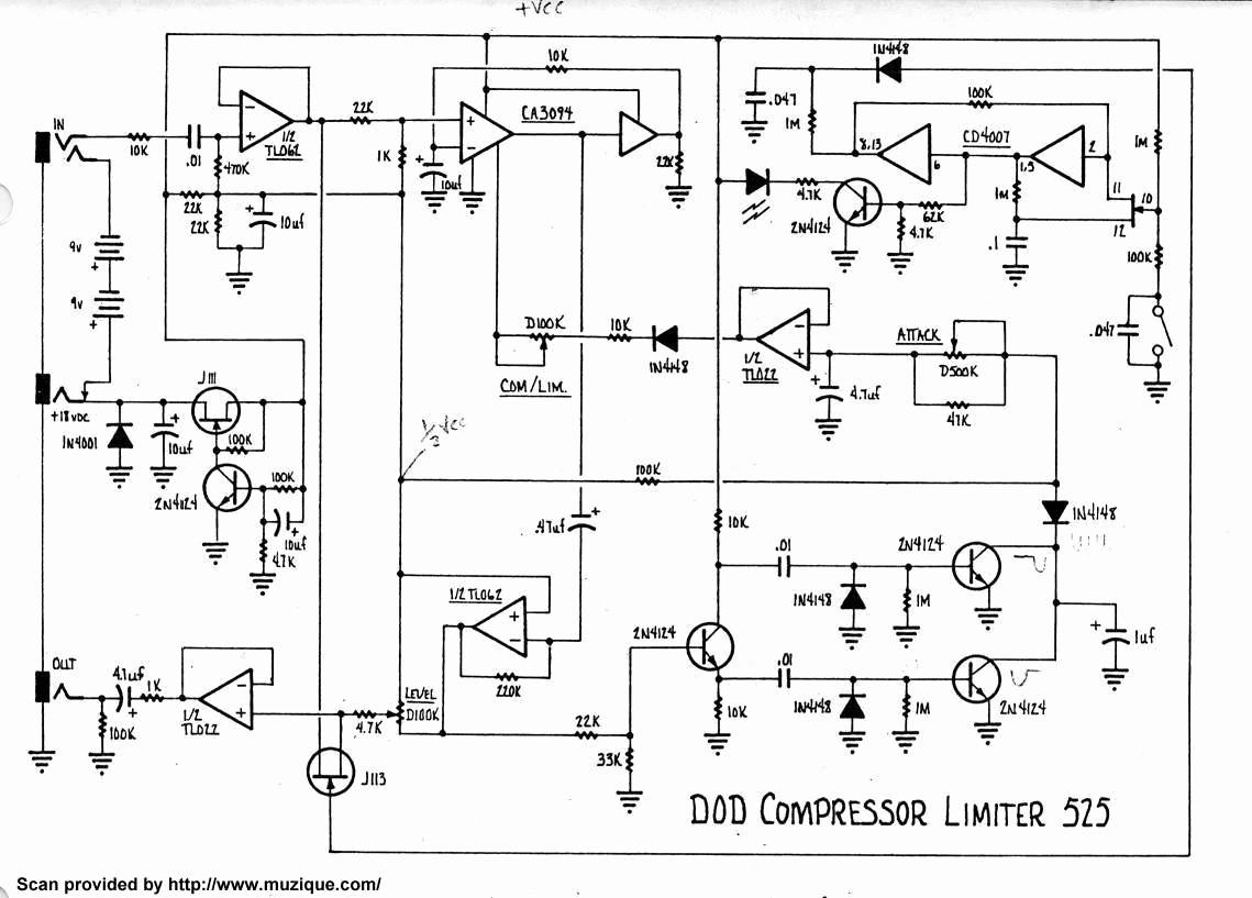 mosrite fuzzrite schematic