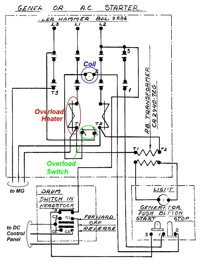 motor starter wiring diagram pdf inspirational