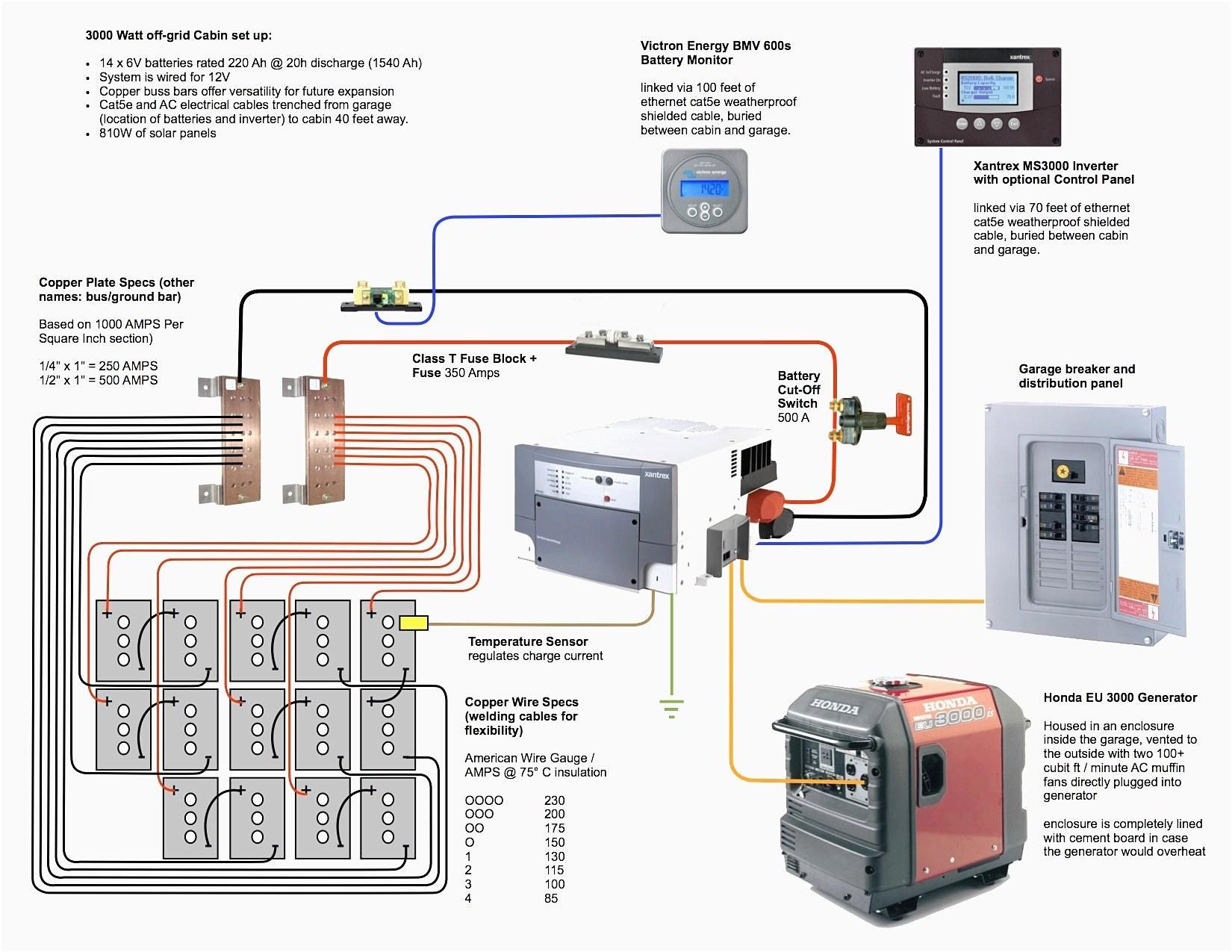 Solar Panel Wiring Diagram Example Valid Wiring Diagram for F Grid solar System New solar Panels