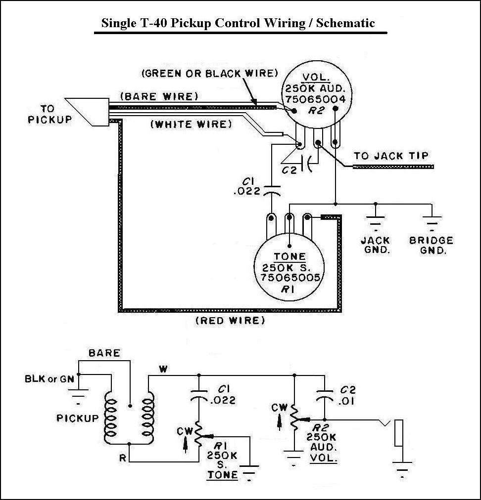 peavey t 40 wiring diagram