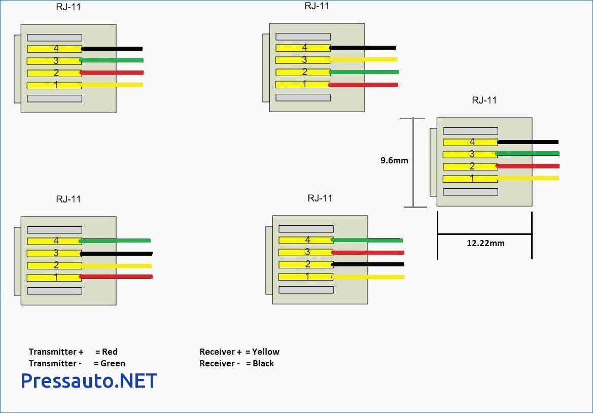rj11 connector wiring diagram schematics wiring diagrams u2022 rh seniorlivinguniversity co RJ11 Cable RJ11 Wiring Standard