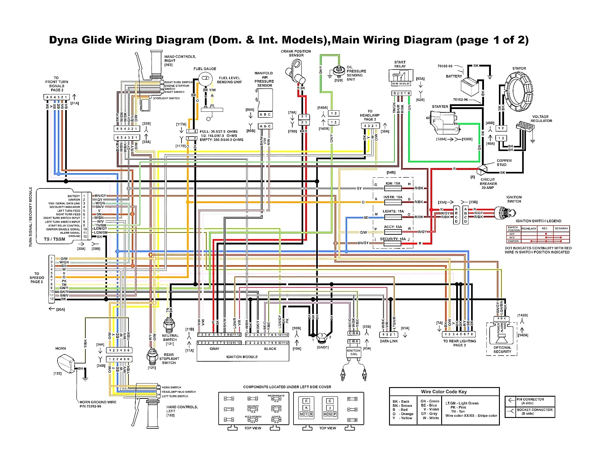 Harley Davidson Wiring Harness Diagram Wp105 | Wiring Diagram on