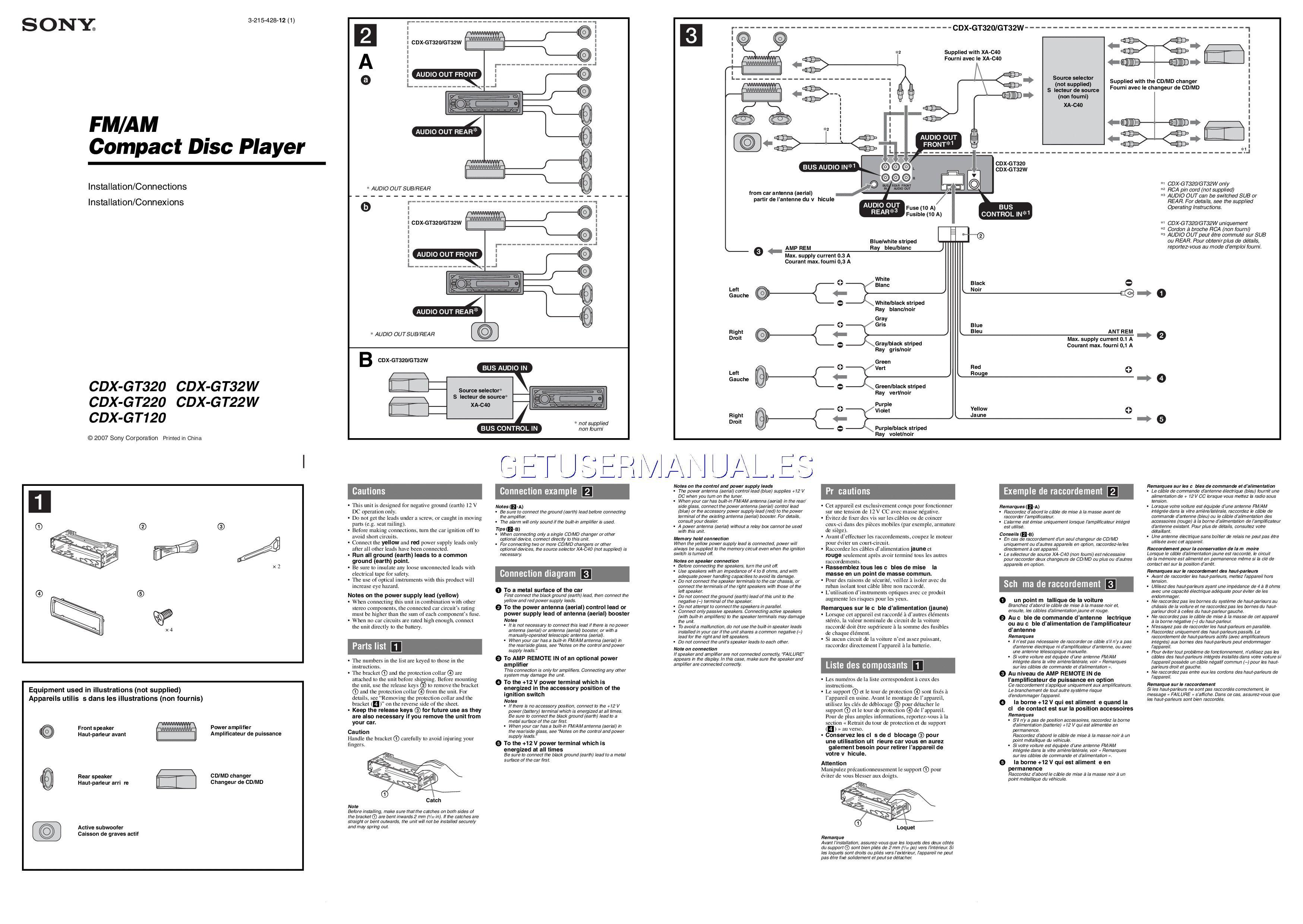 34 Sony Car Radio Wiring Diagram