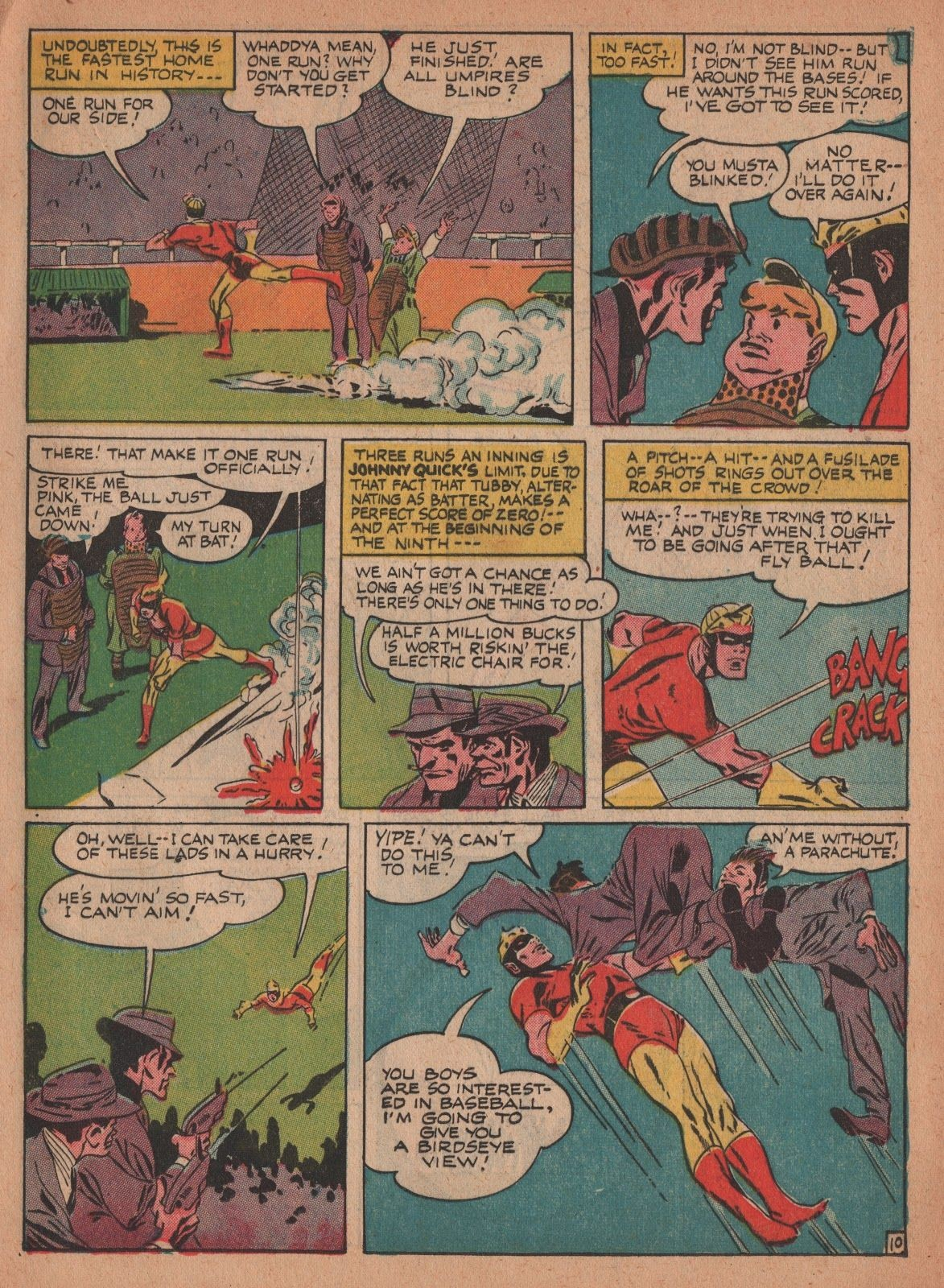 Johnny Quick DC ics