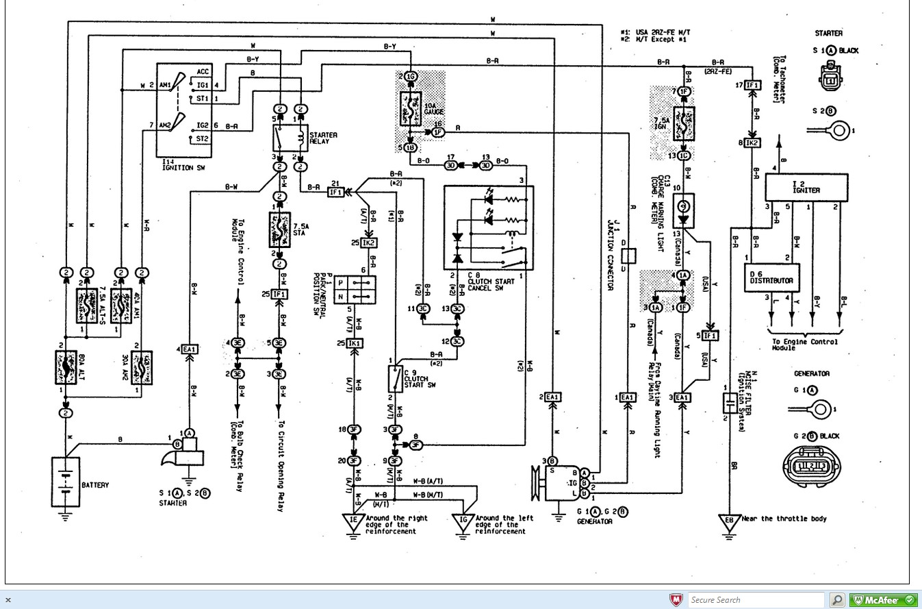 97 ta a engine diagram enthusiast wiring diagrams u2022 rh rasalibre co 1999 Toyota Ta a Toyota Camry Radio Wiring Diagram
