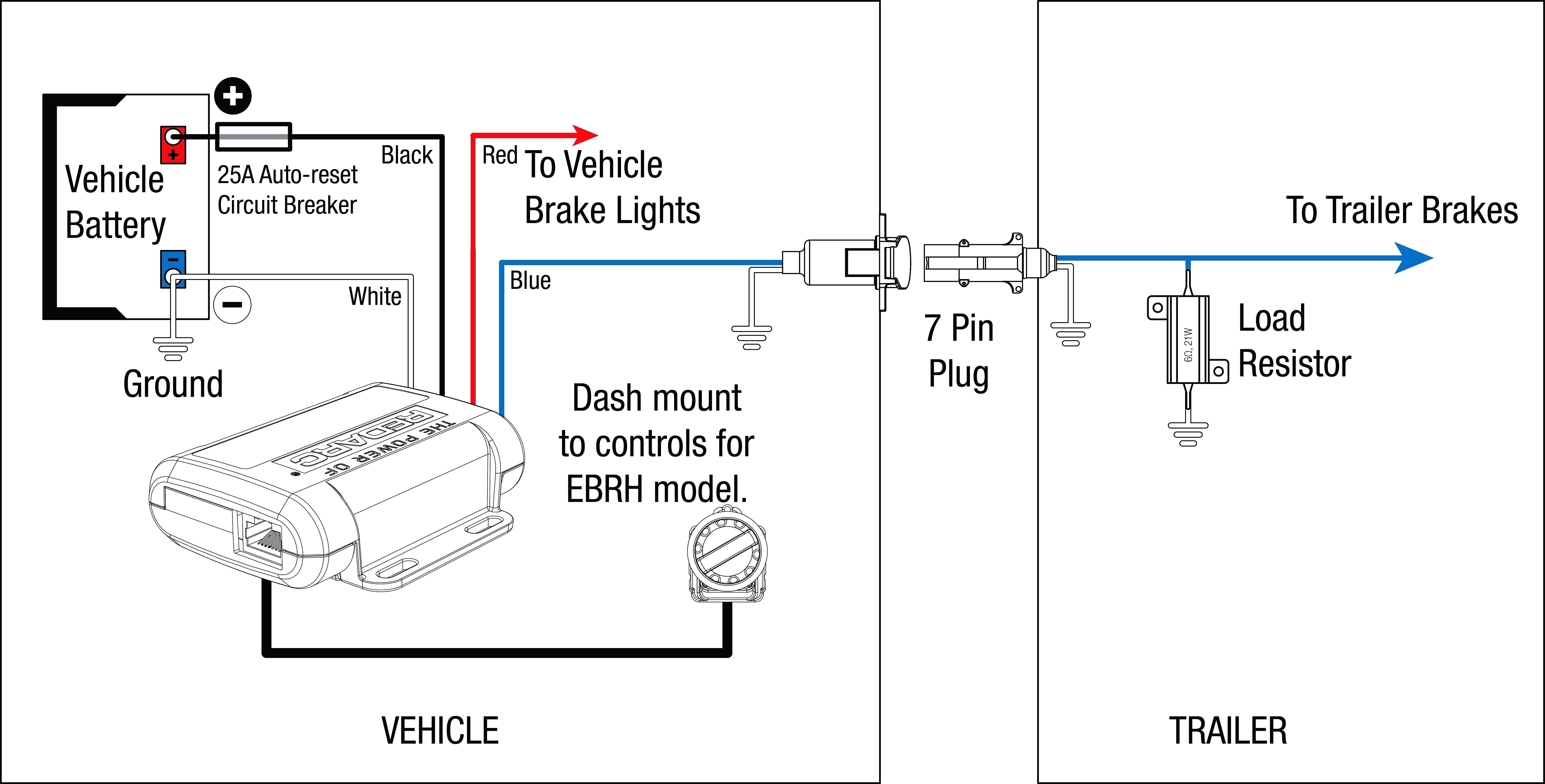 trailer brake controller wiring diagram inspirational