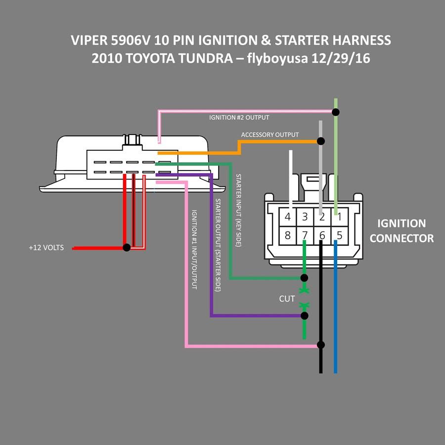 Viper 4105v Wiring Diagram Unique