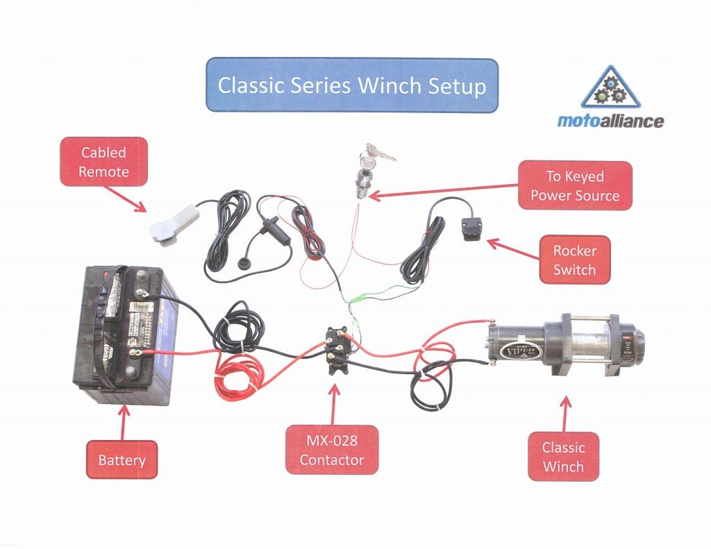 Badlands Winch Wiring Diagram from mainetreasurechest.com
