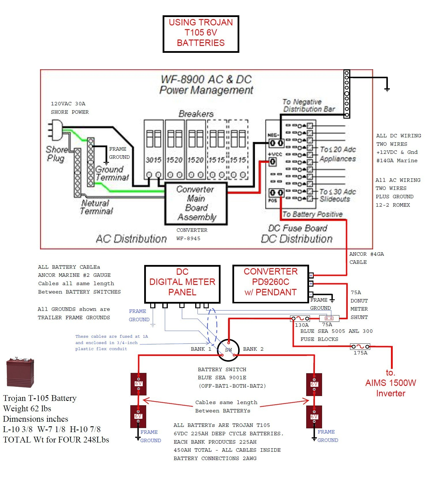 Wfco 8955    Wiring       Diagram         Wiring       Diagram    Image