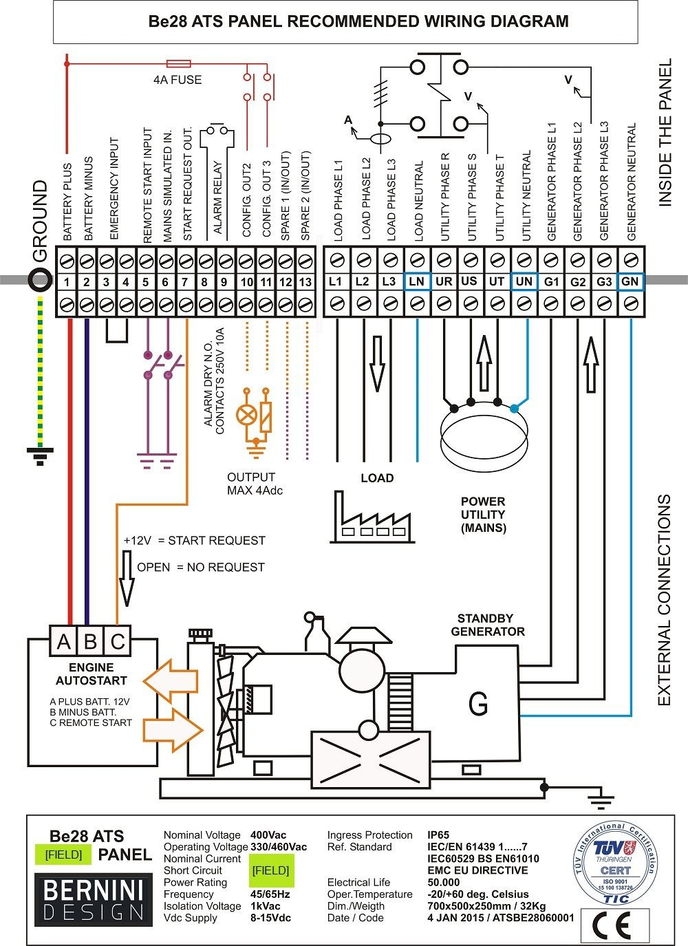 Disconnect Switch Wiring Diagram Moreover Power Transfer Switch