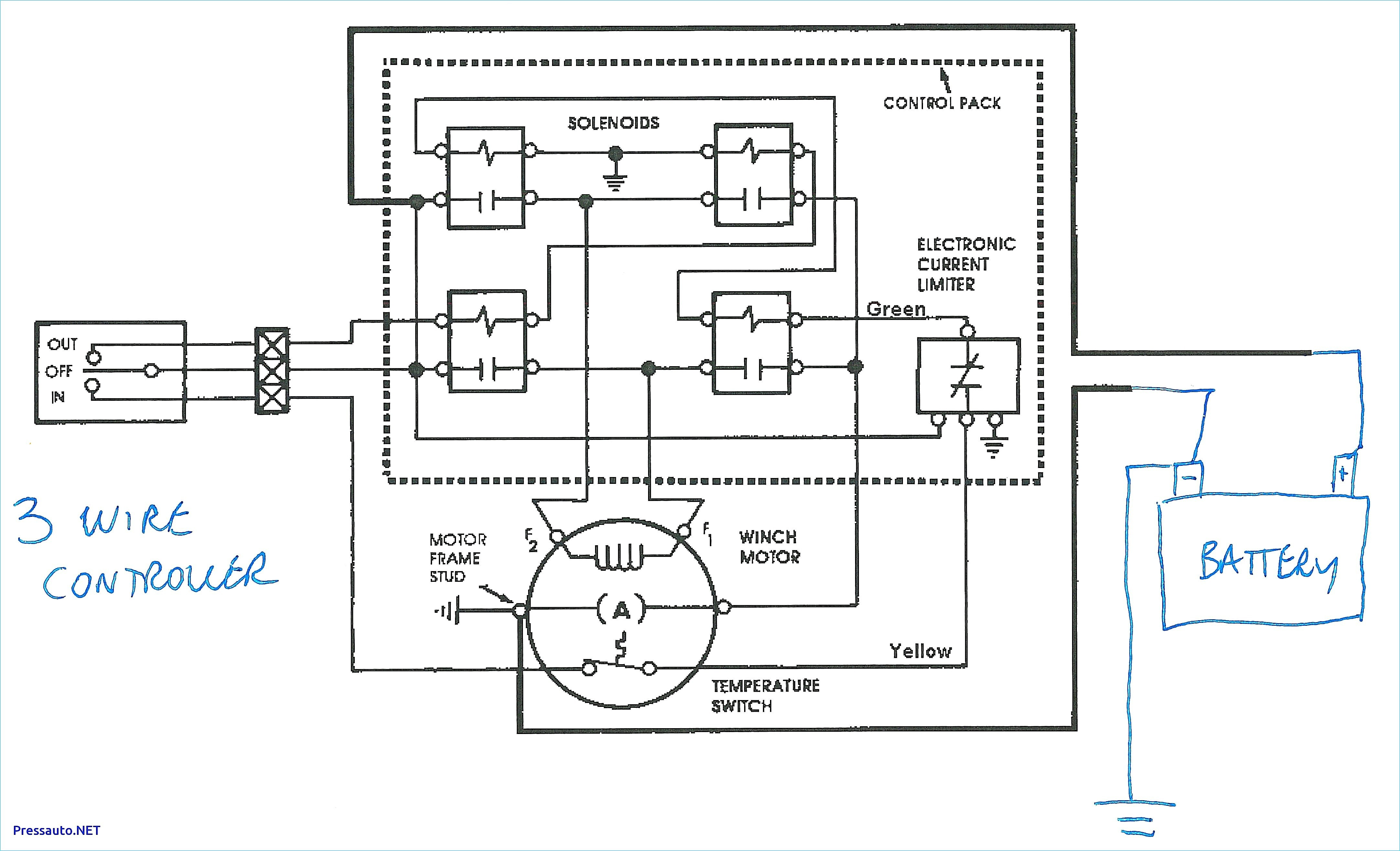 Warn Winch Wiring Diagram 4 solenoid Badland Winch Wiring Diagram Unique Warn 12k Winch Wiring