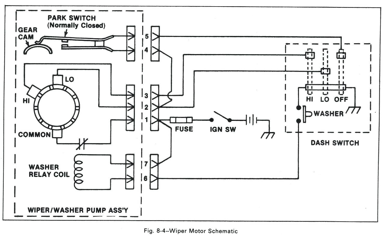buick wiper motor wiring diagram schematic wiring diagrams u2022 rh detox design co GM Wiper Motor Wiring GM Wiper Switch Wiring Diagram
