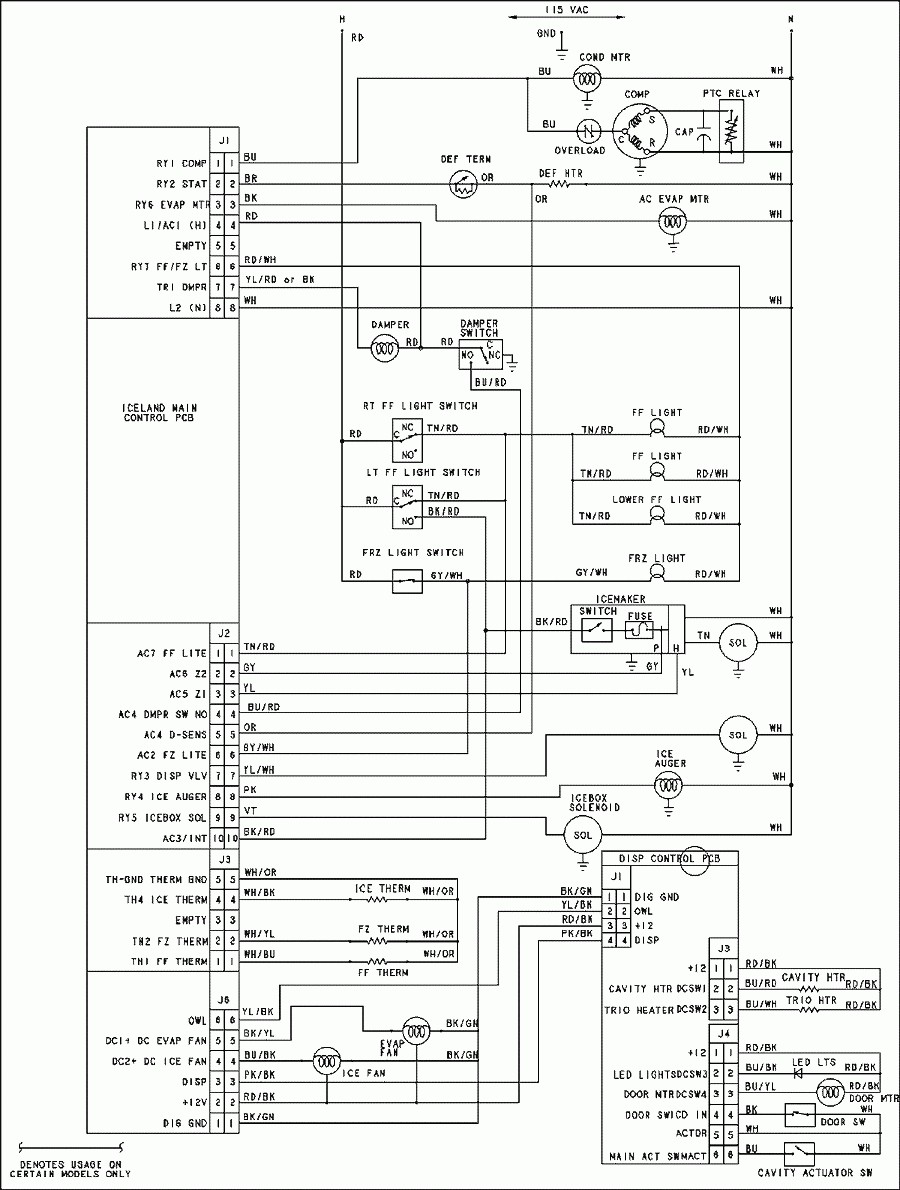 ge refrigerator wiring diagram ice maker beautiful diagram ge of ge refrigerator wiring diagram
