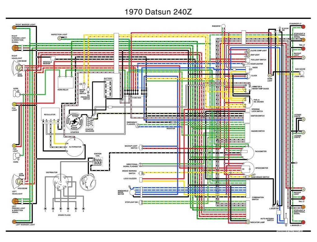 240z Wiring Diagram At Datsun