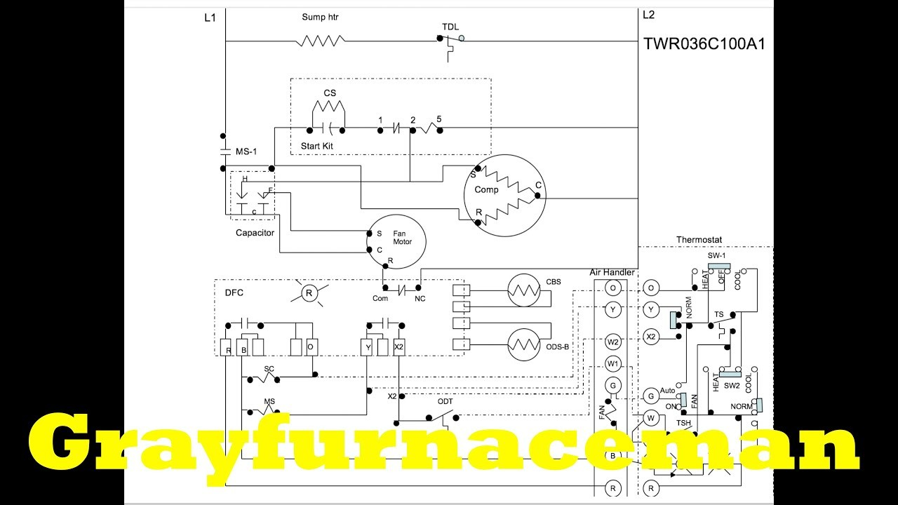 The heat pump wiring diagram overview