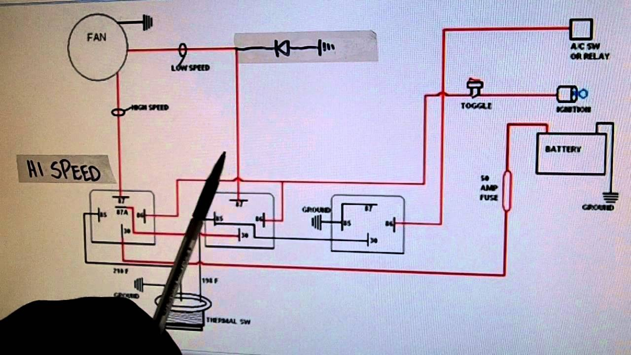 2002 Jeep Grand Cherokee Cooling Fan Schematic