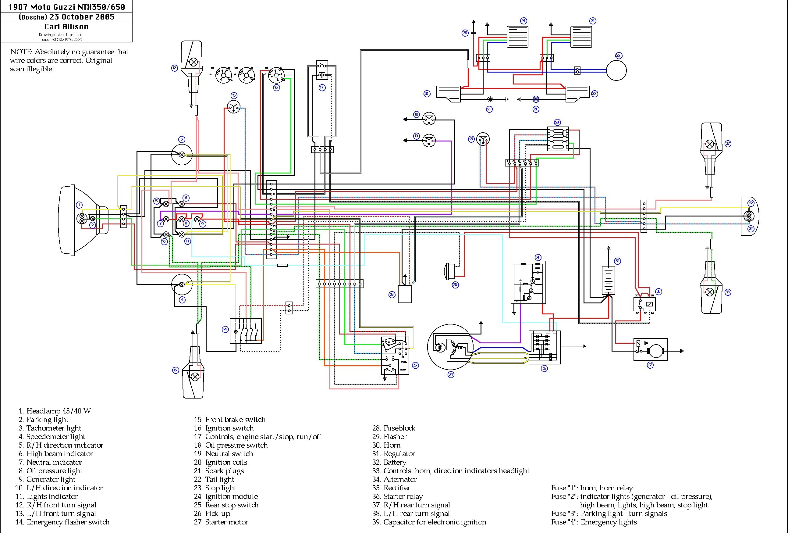 2004 Yamaha Kodiak 400 Wiring Diagram