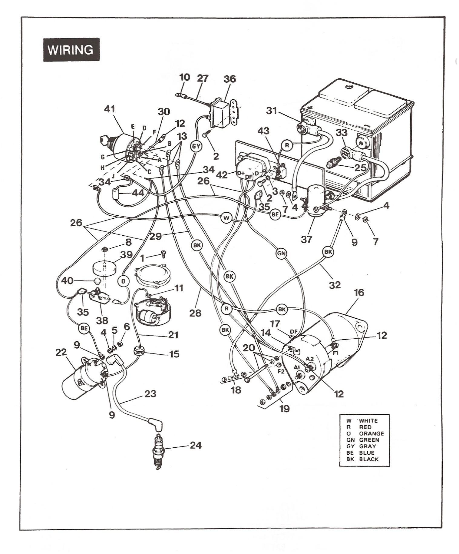 Ezgo Golf Cart Wiring Diagram New 98 Ez Go Wiring Diagram 2018 Wiring Diagram Ezgo Electric
