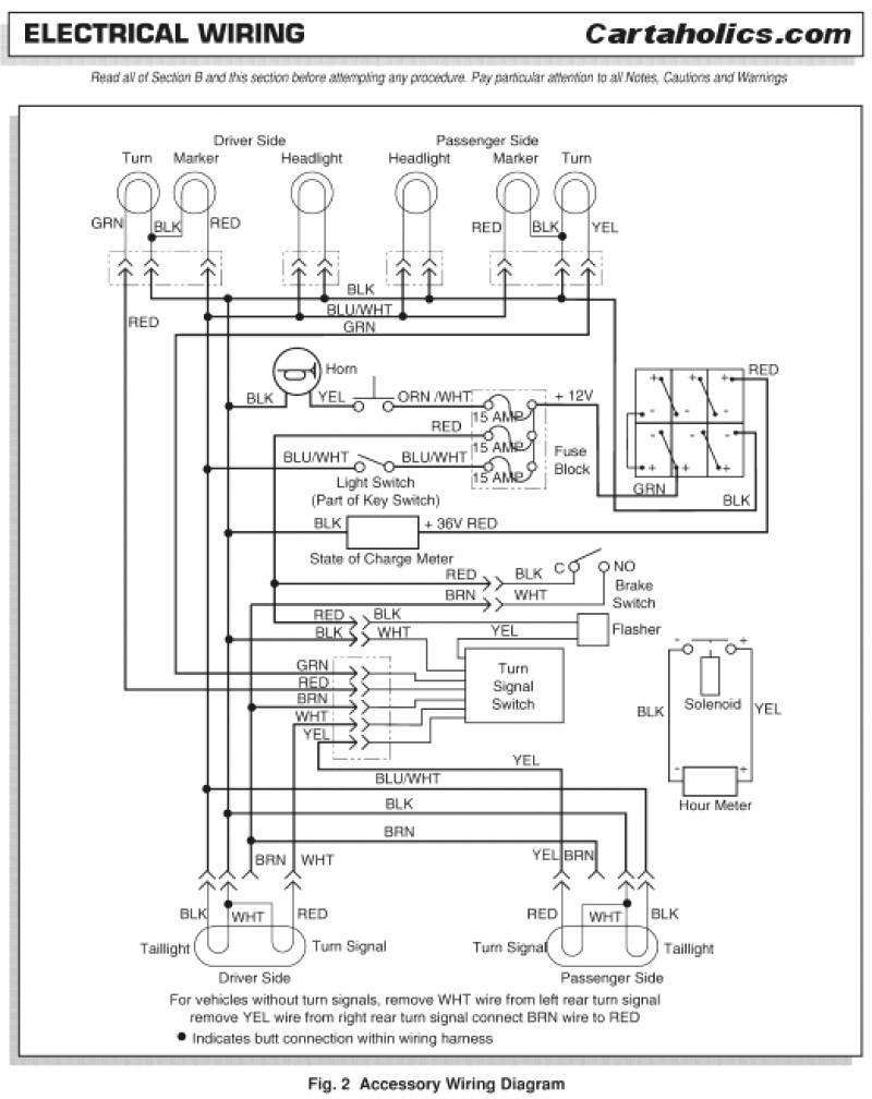 Headlight Wiring For Ezgo Golf Cart Wiring Diagram pleted Ezgo Txt Golf Cart Headlight Wiring Diagram