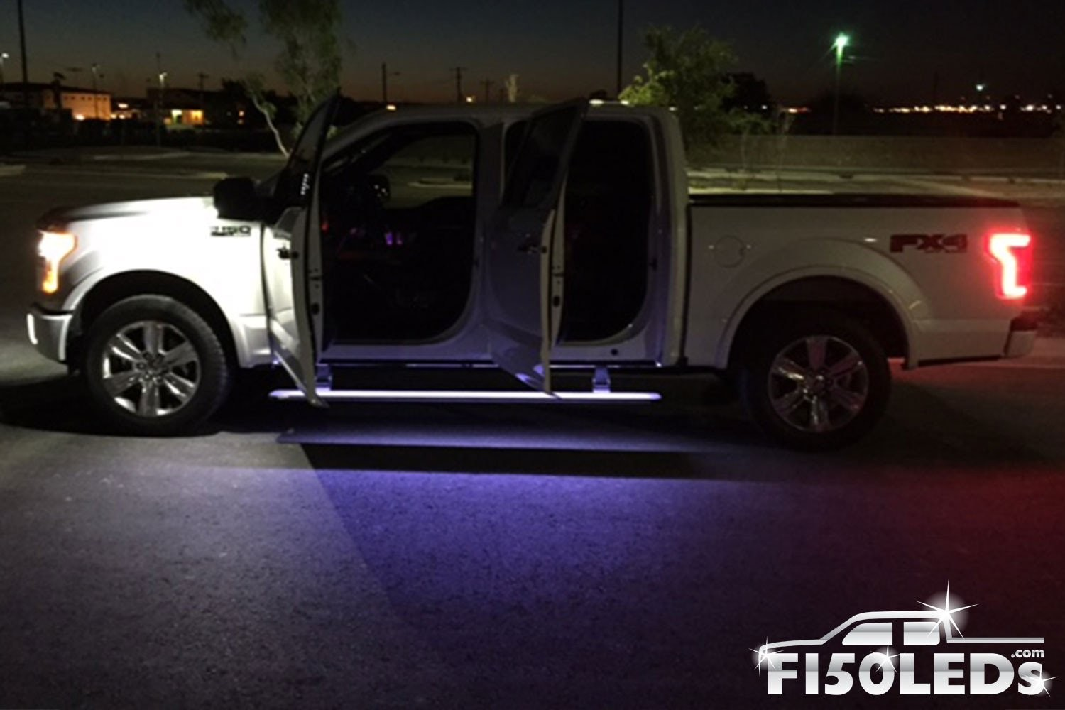 area board running 2016 2015 TRUCK PREMIUM Ambient LEDS LED Kit Lighting Ford F150 F