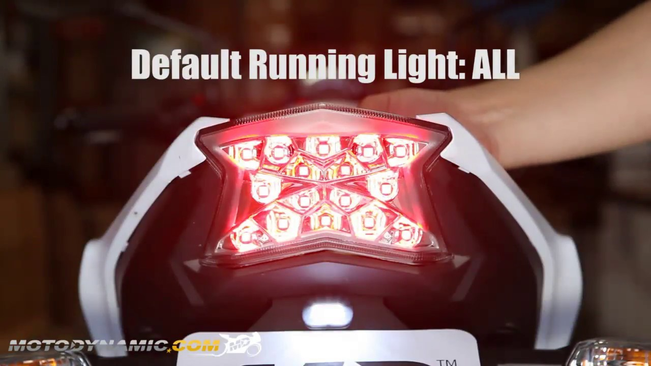 2018 R1 Integrated Tail Light New