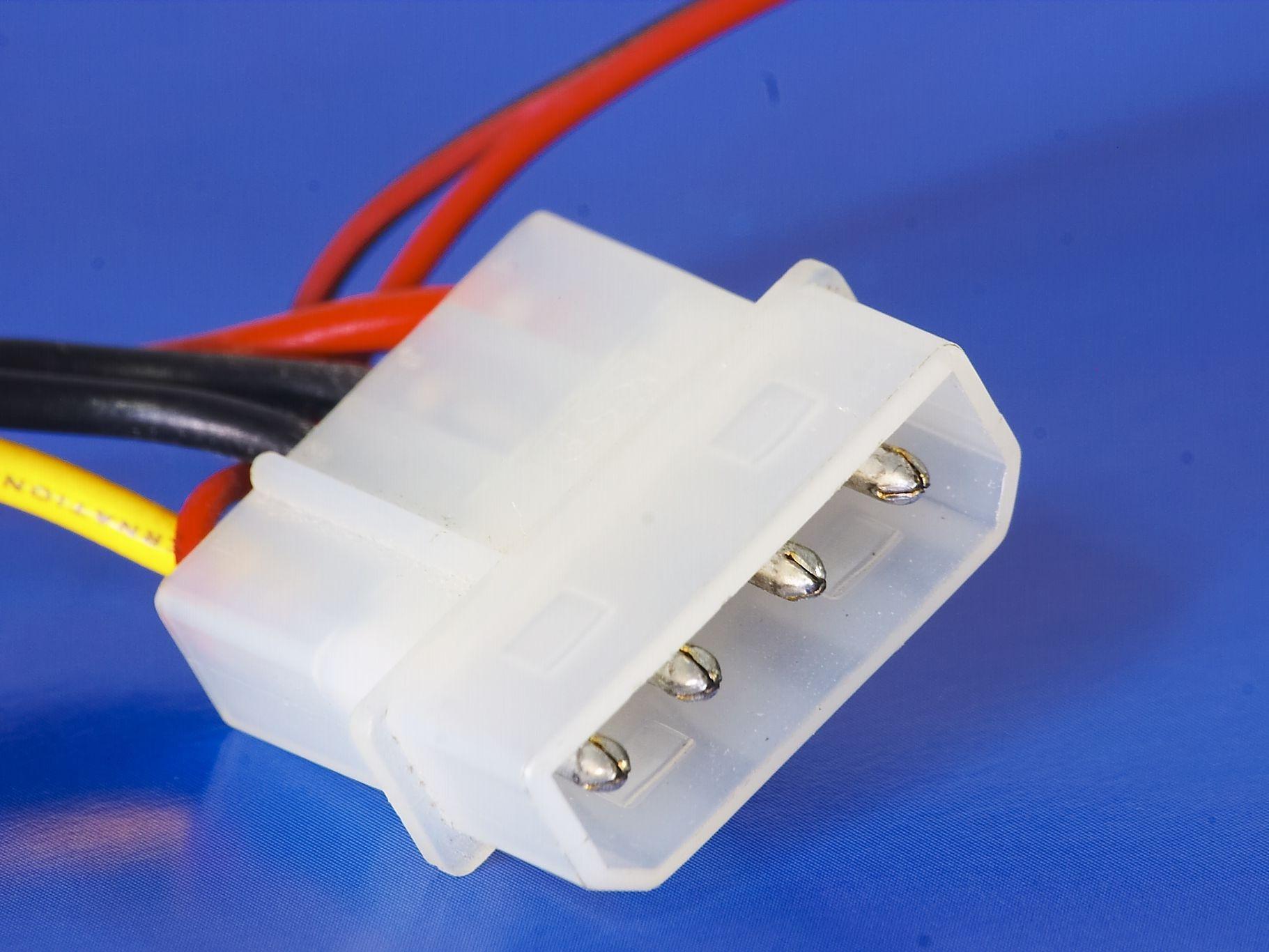 Molex 4 pin Peripheral Power Connector Pinout