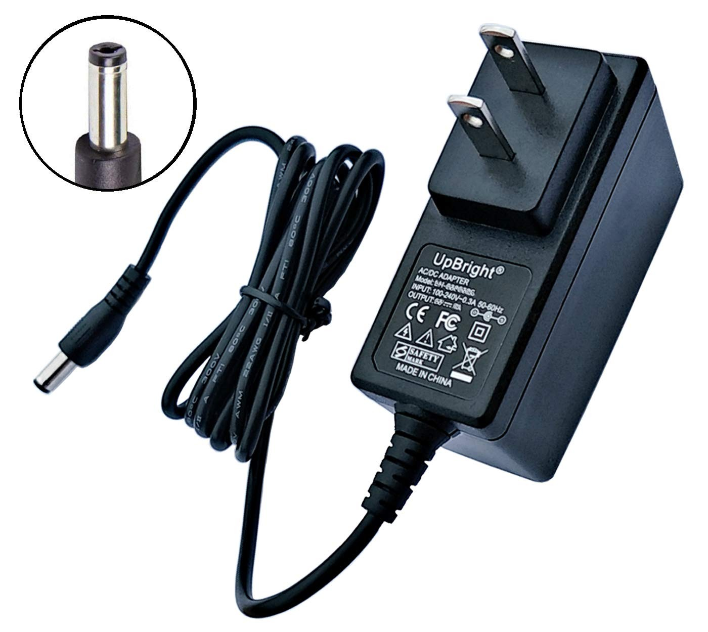 UpBright New 12 Volt Power Supply 1 Amp Standard 12V 1A DC 12W AC Adapter 12VDC 0 5A 1 0A 500mA 1000mA Power Cord Cable Battery Charger w 5 5mm OD x