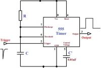 555 Timer and 4017 Decade Counter Best Of Monstable Multivibrator Using 555 Timer