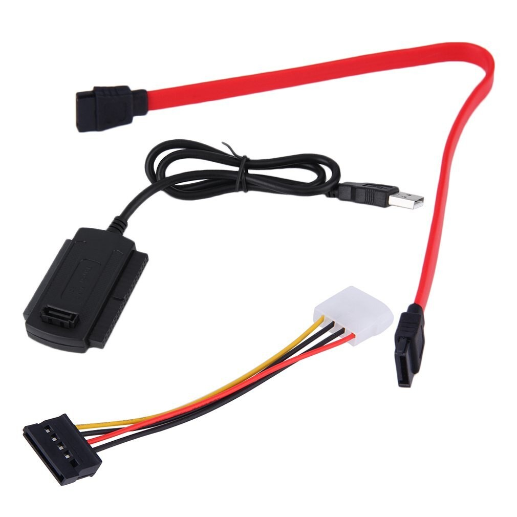 SATA PATA IDE Drive to USB 2 0 Adapter Converter Cable for 2 5 3 5