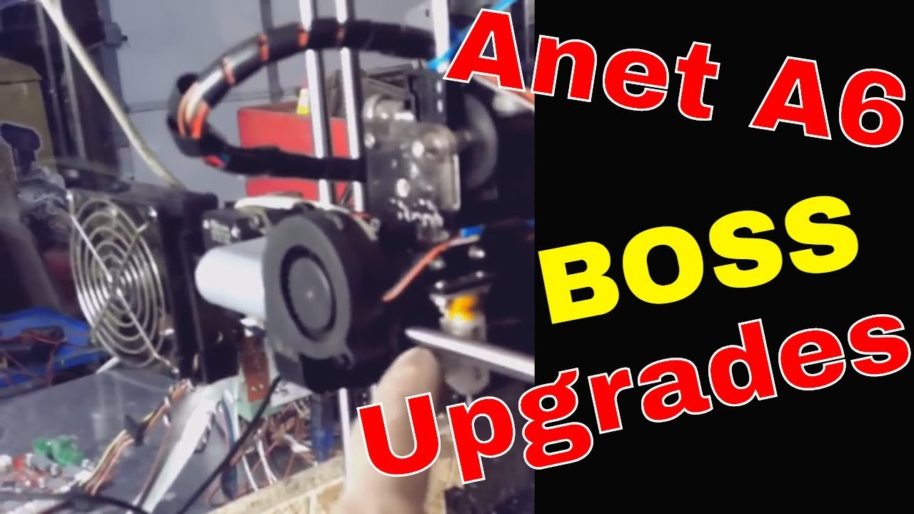 Anet A6 upgrades The final Word