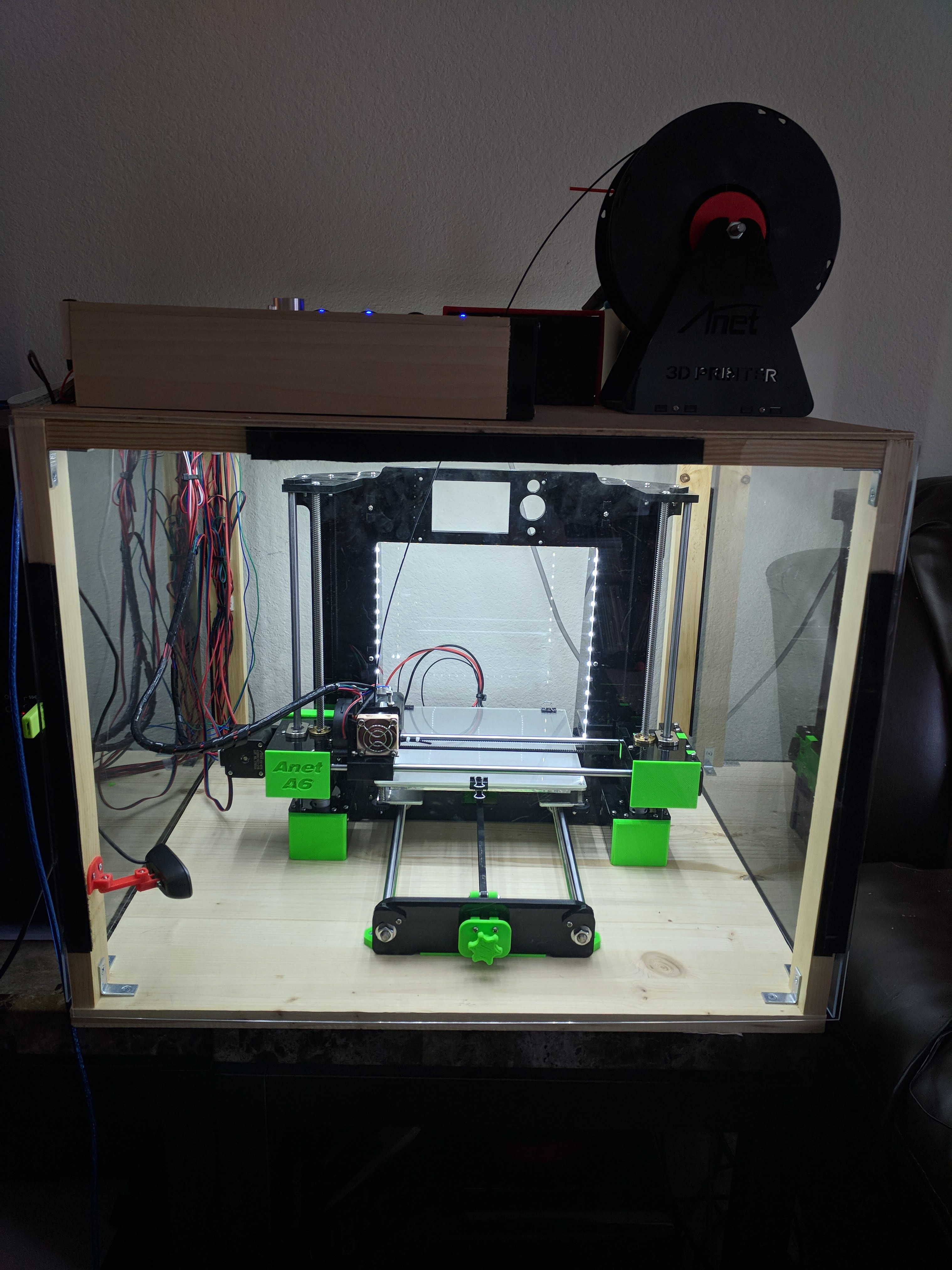 Apart from endlessly finding new parts that I can 3d print for my Anet A6 I ve been working on some electrical upgrades All this started off because I