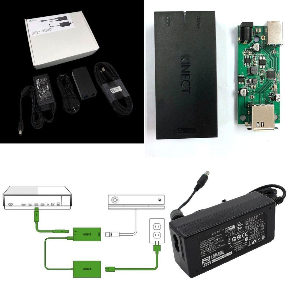 Details about Kinect 2 0 Capteur Adaptateur pour XBOX e S e X Windows PC 10 8 1 8 USB 3 0