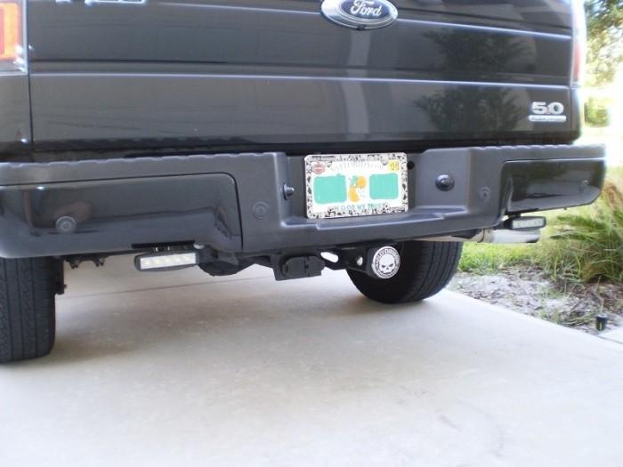 Reverse led light bar back view