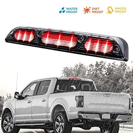 Amazon LED 3rd Brake Light for Ford F150 2015 2016 High Mount Reverse Light Cargo Tail Light Automotive