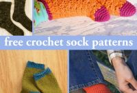 Briggs and Little Simple sock Pattern Elegant 32 Free Crochet sock Patterns
