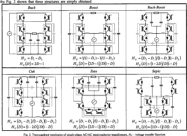 Buck Boost Transformer Circuit Unique