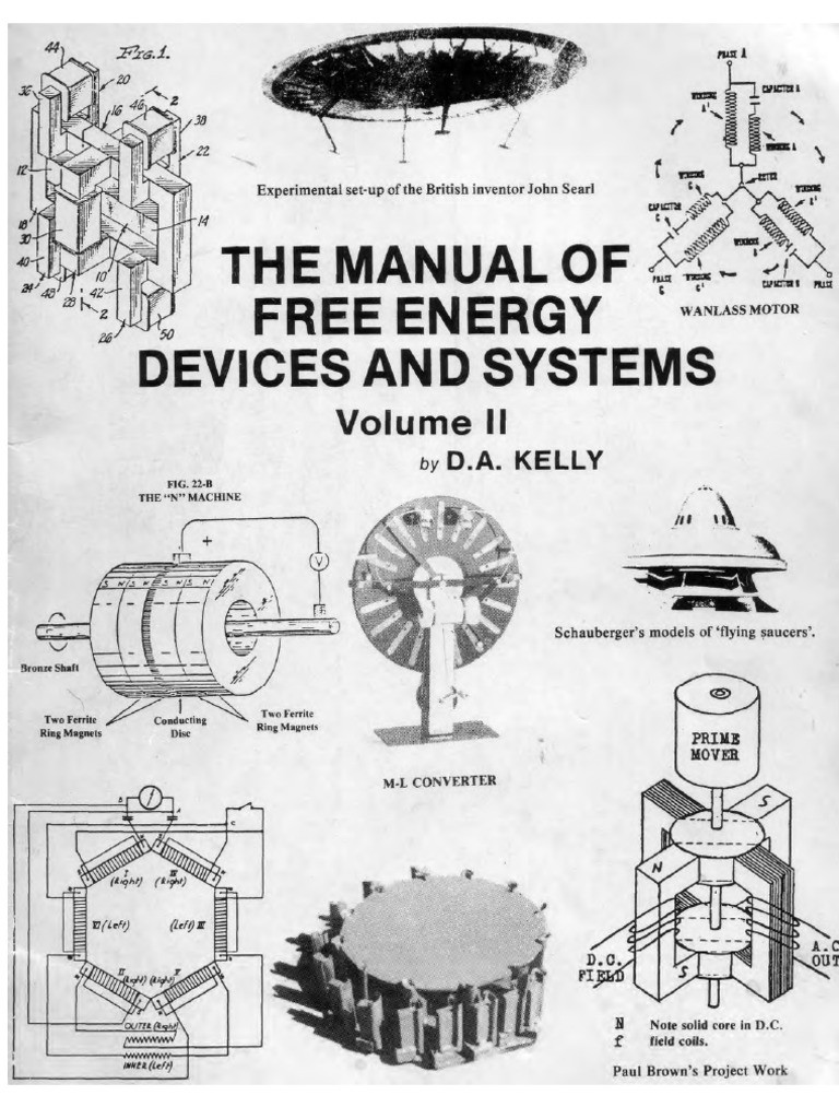 The Manual of Free Energy Devices and Systems 1991 Inductance