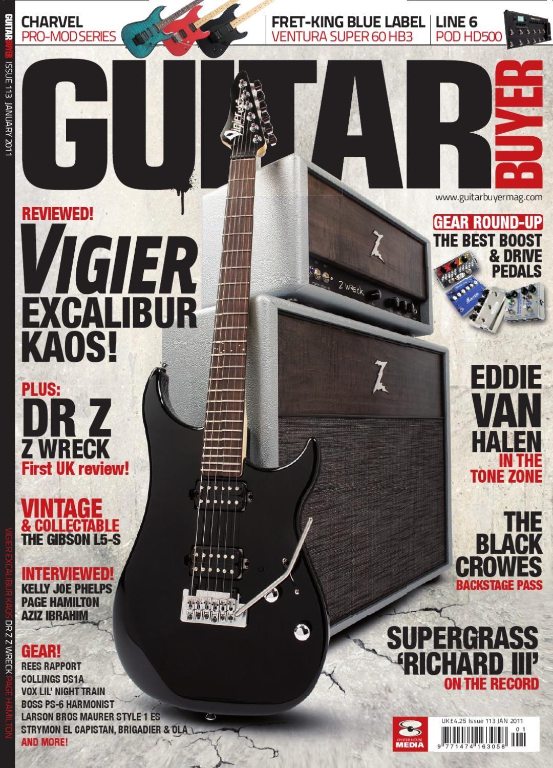 Guitar Buyer Magazine 113