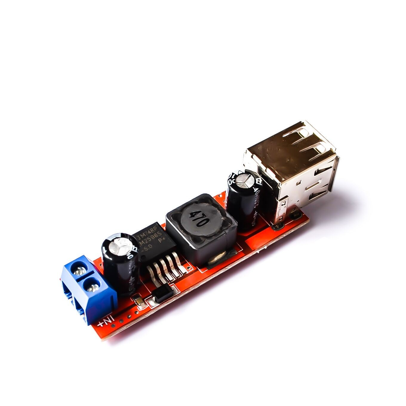 DC 6V 40V To 5V 3A Double USB Charge DC DC Step down