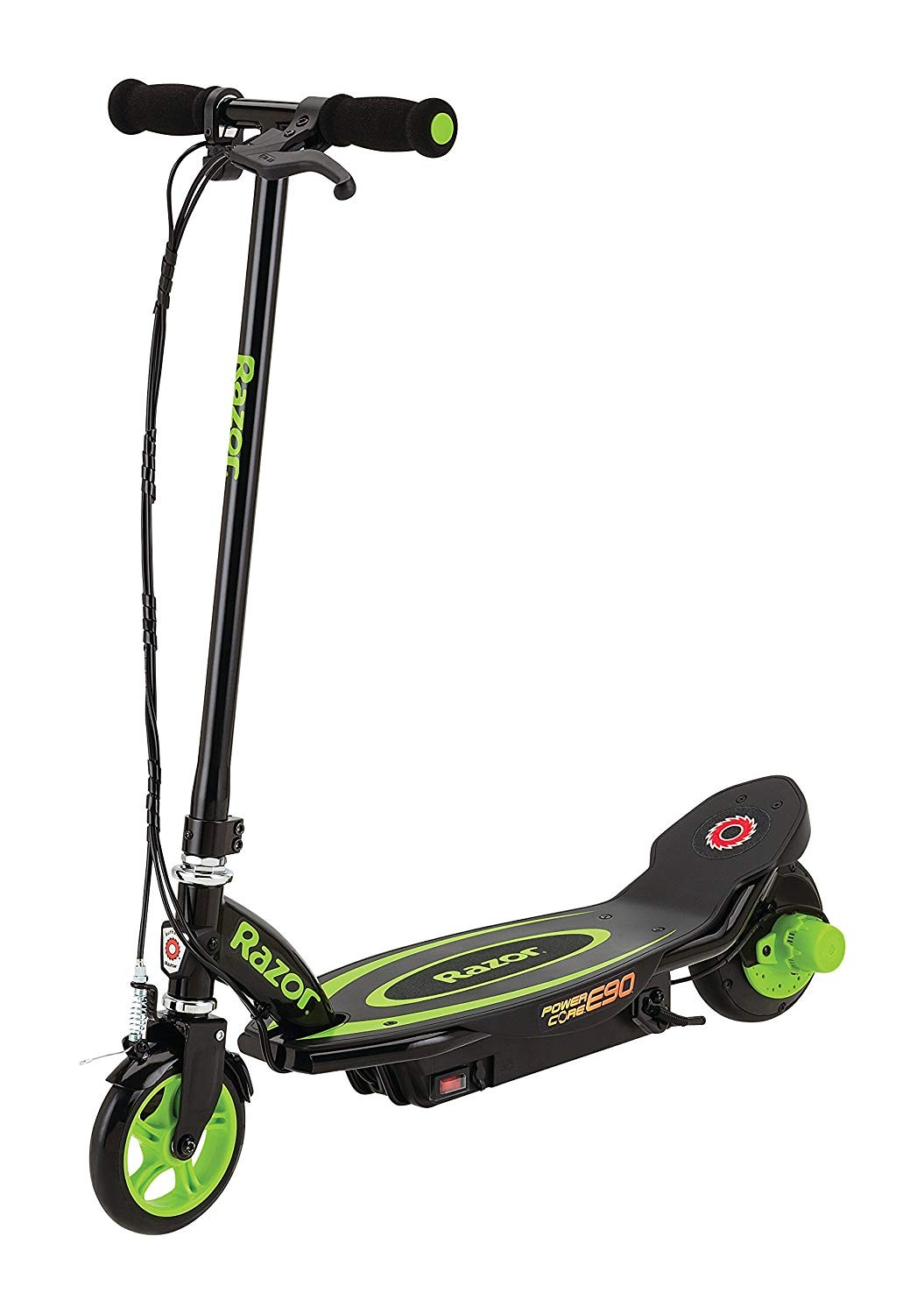 Amazon Razor Power Core E90 Electric Scooter Green Sports & Outdoors