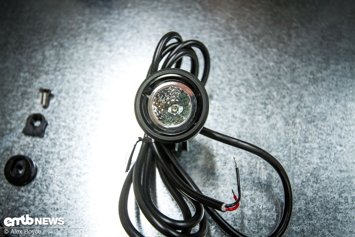 Lights e like this ready to install but they need wiring into the system