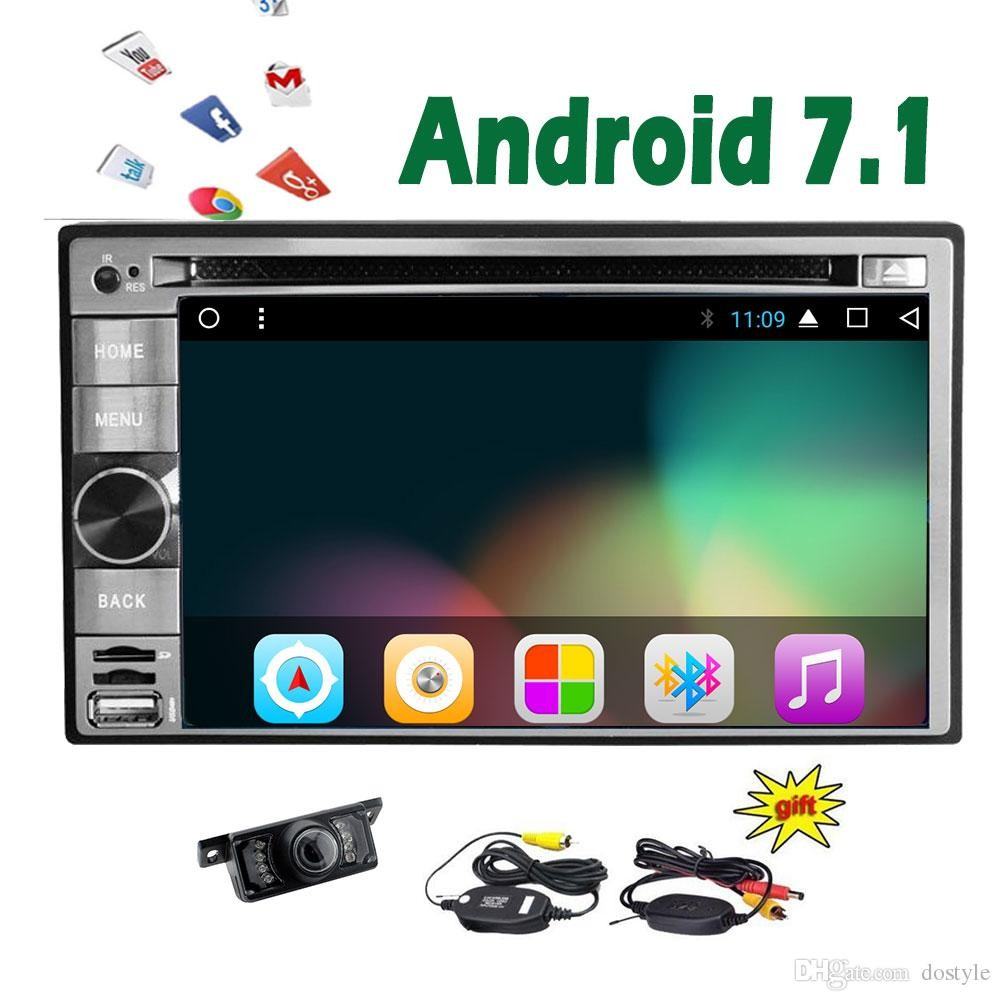universal double 2din android 7 1 car audio