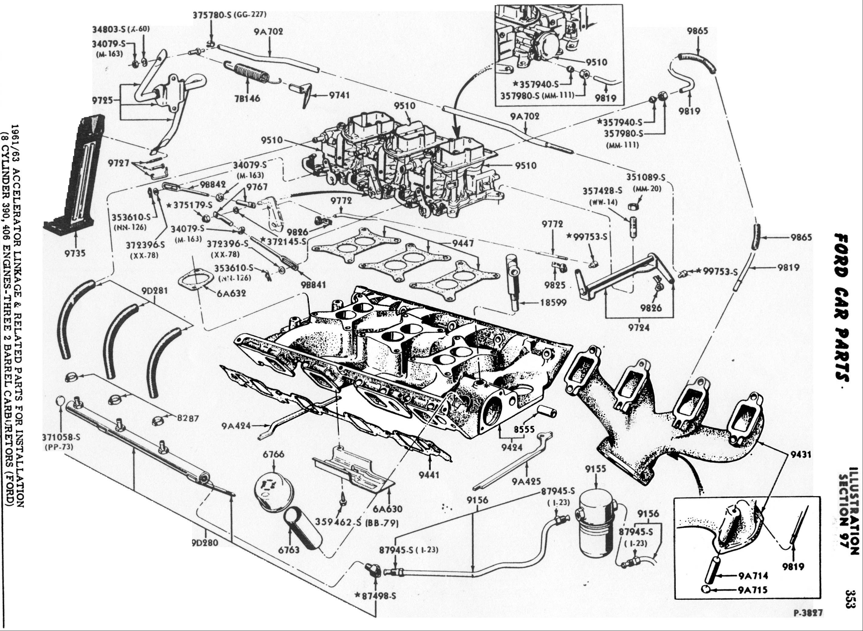 Ford Motor Parts Diagram Enthusiast Wiring Diagrams u2022 Ford Taurus Parts Diagram Ford 300 Parts