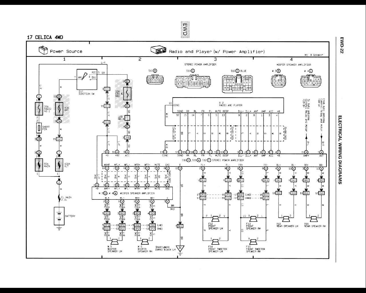 wrg 3749] car tweeter speaker wiring diagram 8 speaker wiring diagram