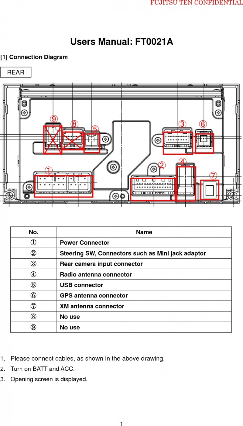 Fujitsu Wiring Diagram Wiring Diagram Insider Toyota Fujitsu 14 Wiring Diagram
