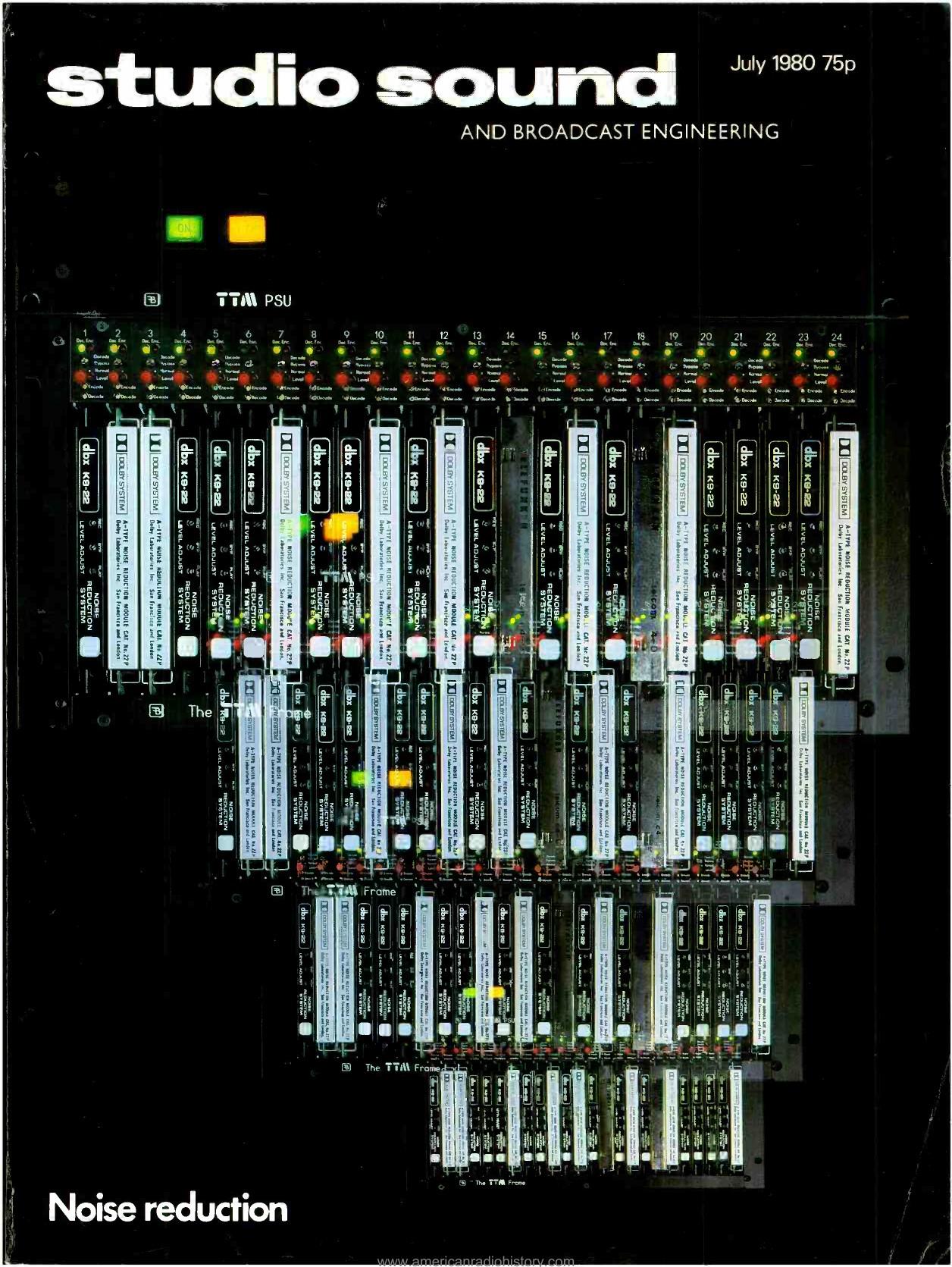 Noise reduction American Radio History
