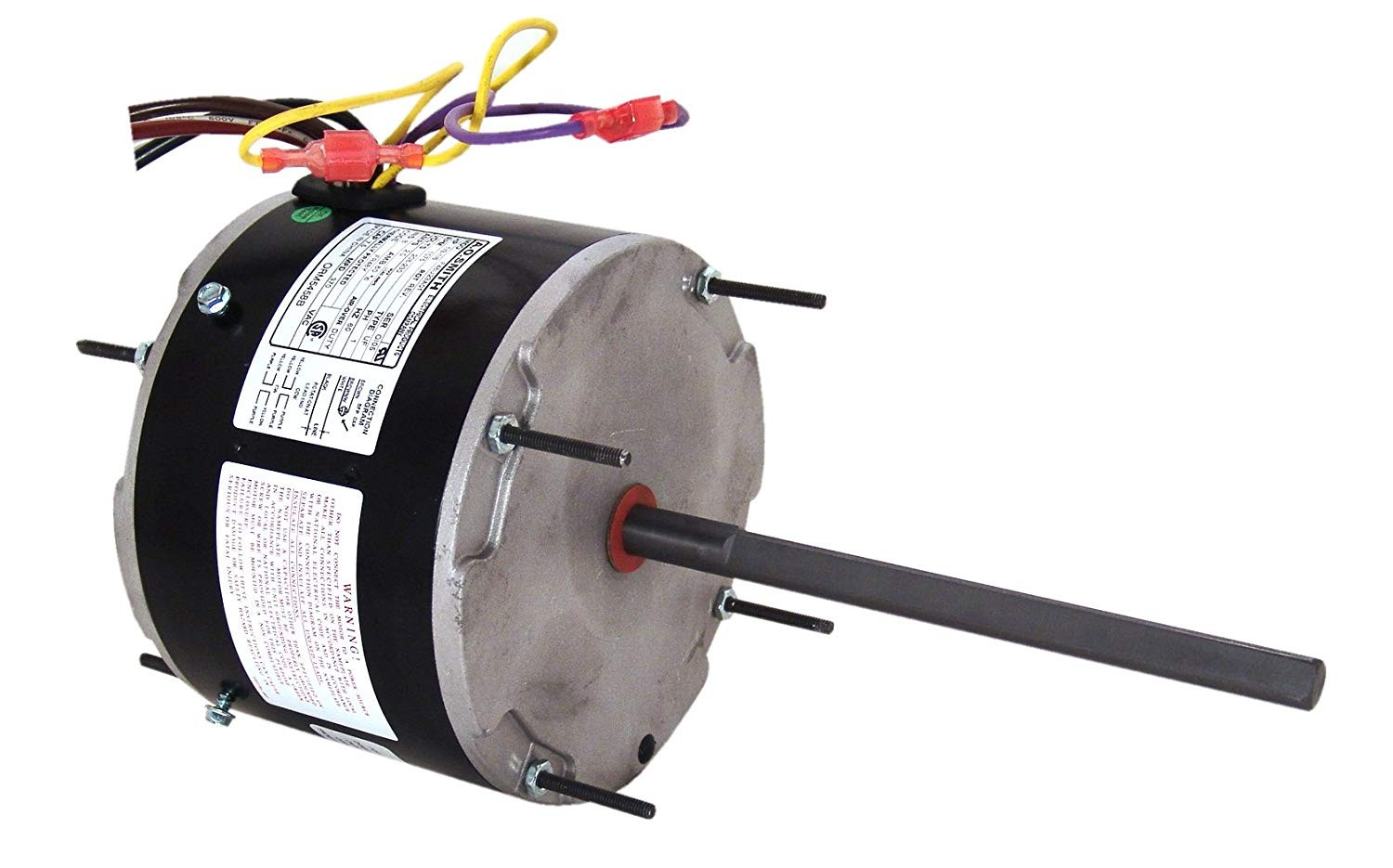 A O Smith ORM5458 1 3 1 6 HP 1075 RPM 208 230 volts 2 Amps 48Y Frame Sleeve Bearing Condenser Motor