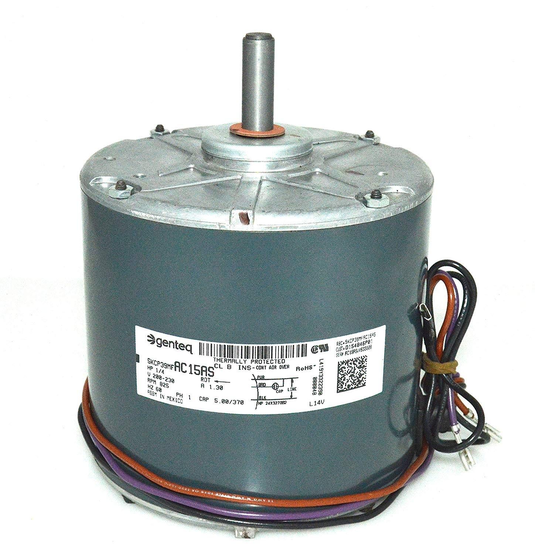 OEM Trane American Standard GE Genteq Fan Motor 1 4 HP 200 230v 5KCP39MFAC15AS Amazon